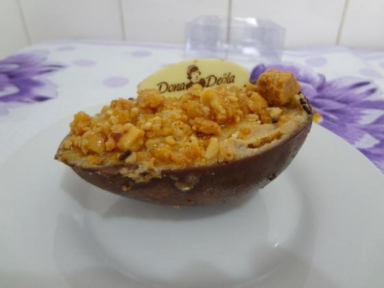 Ovo de Páscoa Paçoca mini -  Dona Deôla