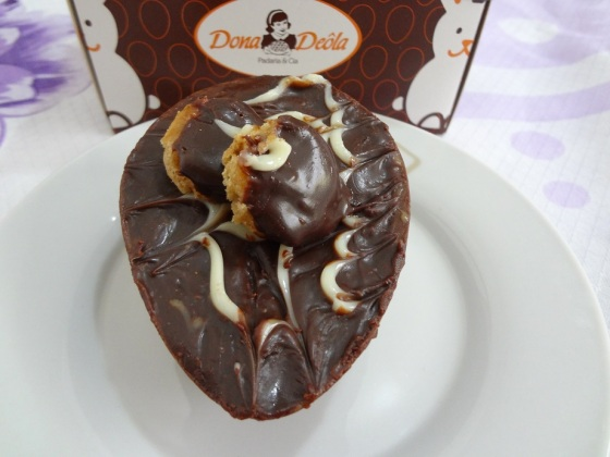 Ovo de Páscoa Pão de Mel mini - Dona Deôla