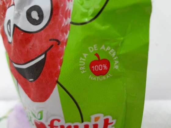 petit fruit morango + maçã