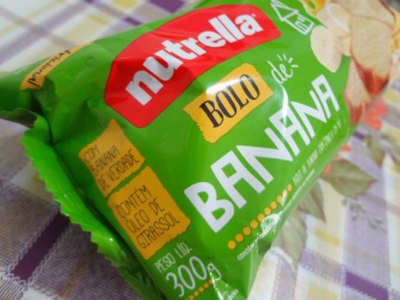 bolo de banana nutrella