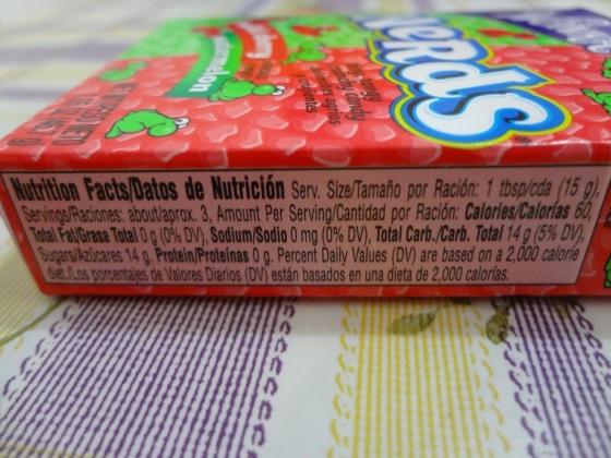 Nerds Wonka Watermelon Cherry