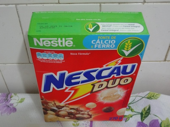 nescau duo cereal