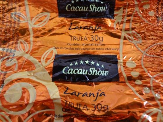trufa laranja cacau show