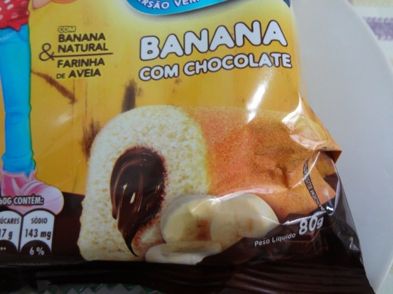ana maria banana com chocolate