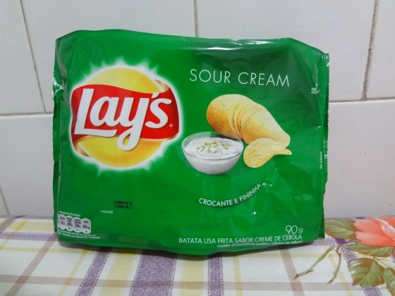 lay's sour cream