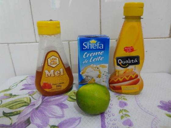 molho mel e mostarda