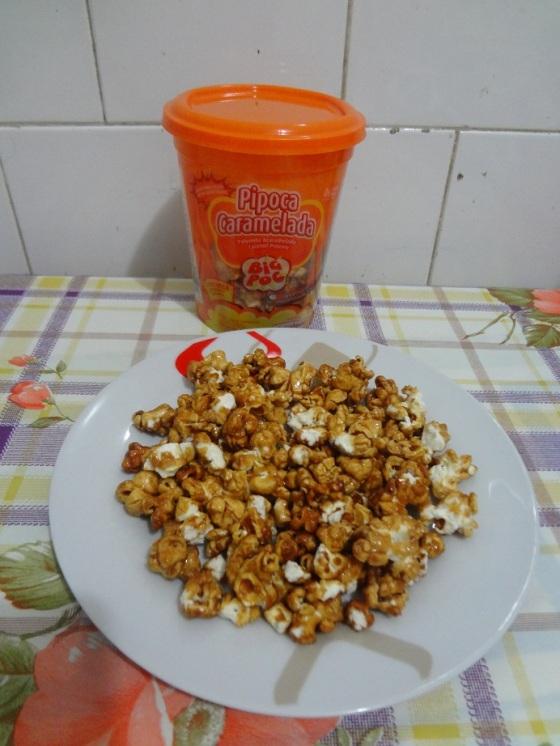 Pipoca Caramelada Mavalério