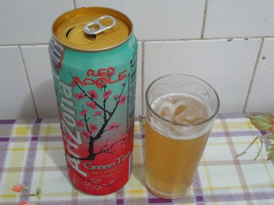 arizona red apple green tea
