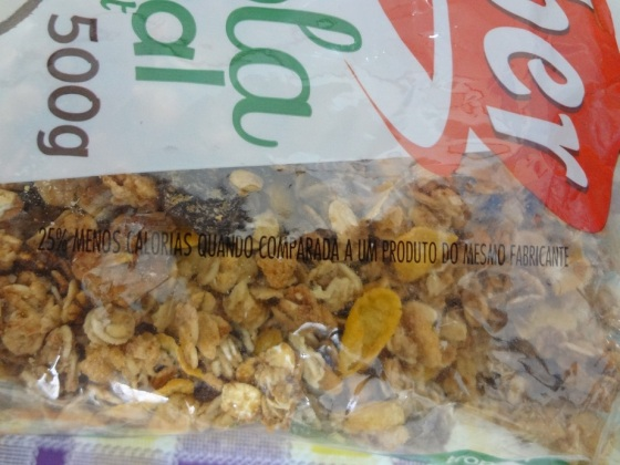 Granola tropical light kobber