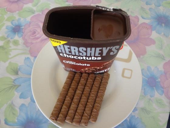 Hershey's chocotubs