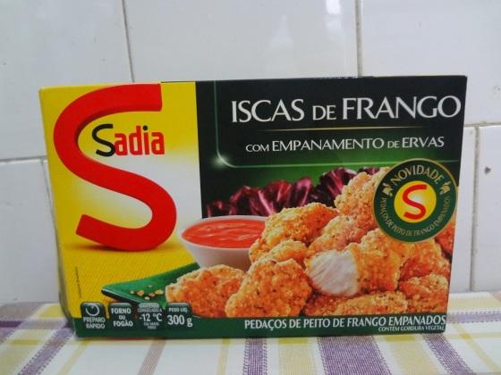 Iscas de frango com ervas Sadia