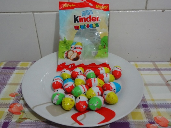 mini eggs kinder