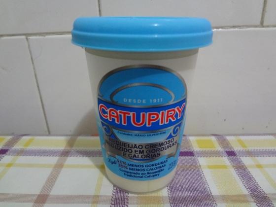 requeijão catupiry light