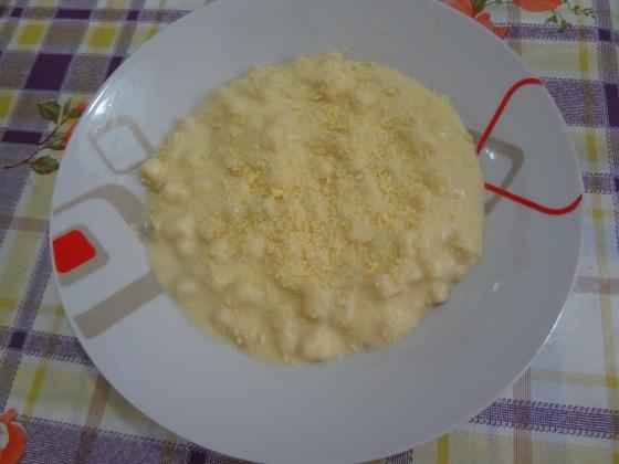 sopa de couve flor