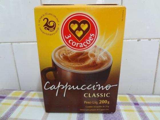 Cappuccino Classic 3 Corações