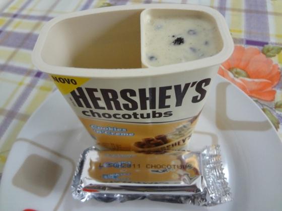 Hershey's Chocotubs Cookies 'n' Creme
