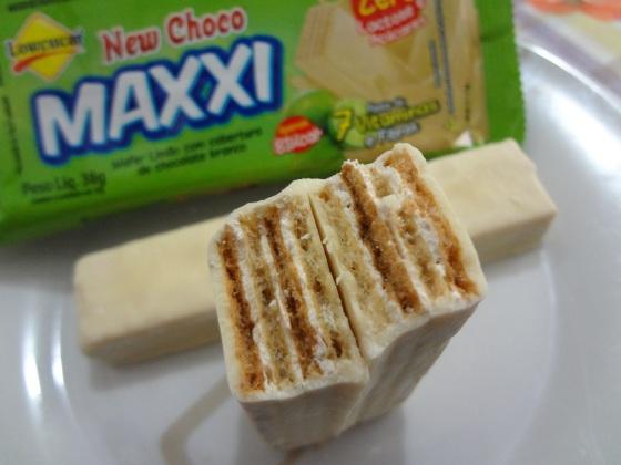 new choco maxxi wafer limão lowcucar