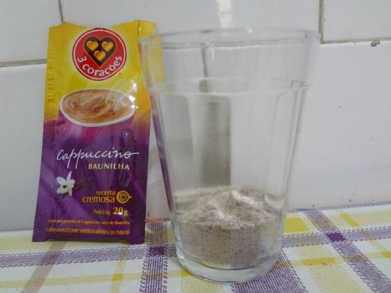 cappuccino baunilha 3 corações