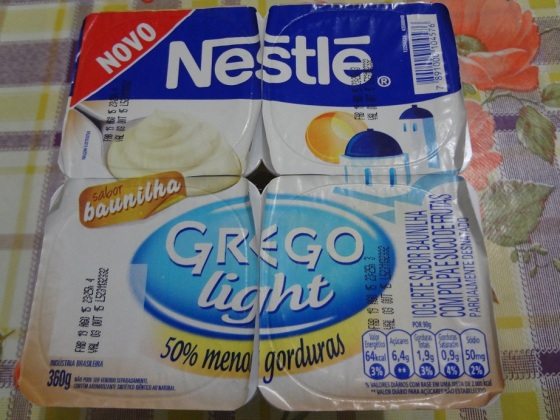 grego light baunilha