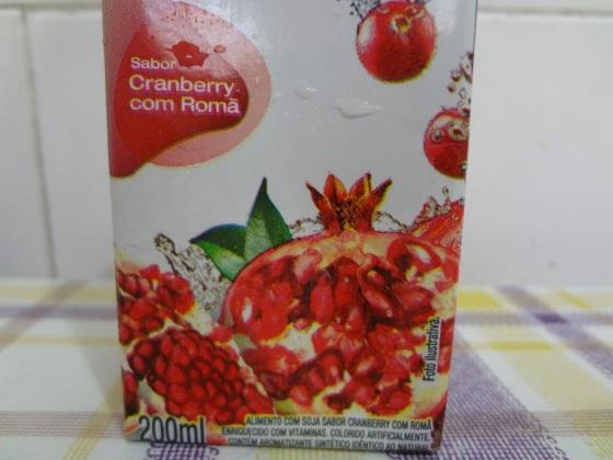mais vita soja cranberry com romã