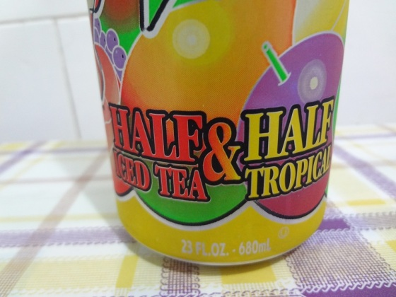 Arizona Half Iced Tea Half Tropical