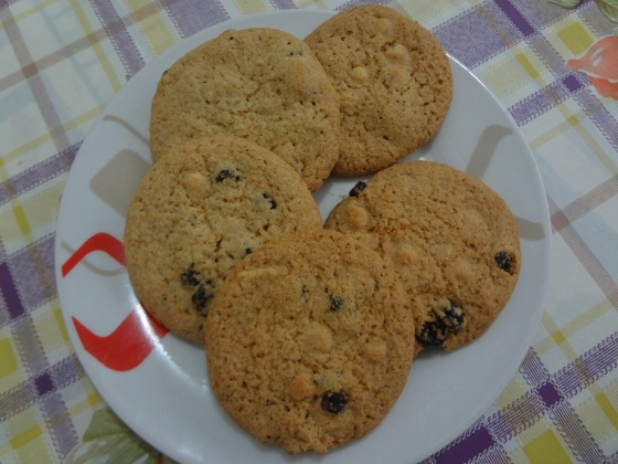 cookies blueberry e chocolate branco sugar and spice