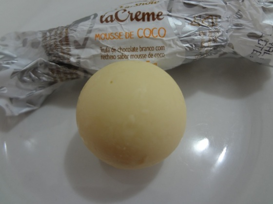 trufinha la creme mousse de coco