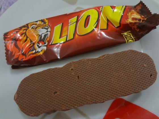 Lion chocolate ao leite