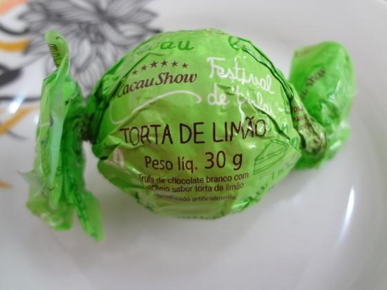 trufa torta de limão cacau show