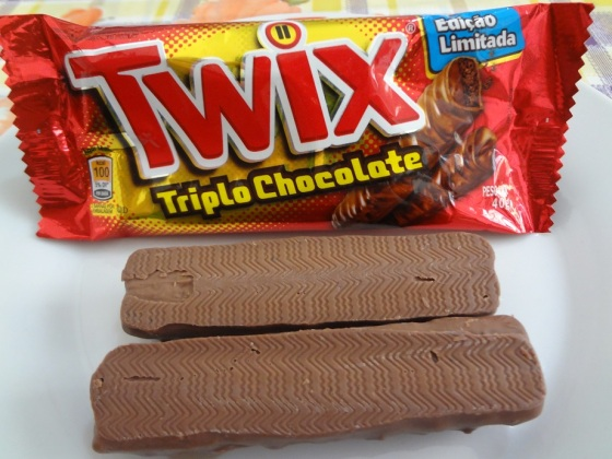 twix triplo chocolate