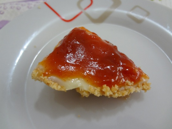 mini cheesecake romeu e julieta