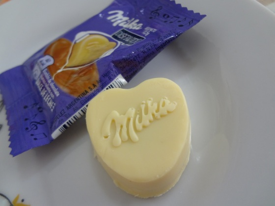 Milka dulce de leche bombon