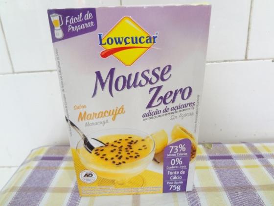 mousse zero maracujá lowçucar