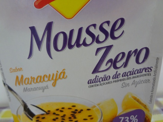 mousse de maracujá lowçucar