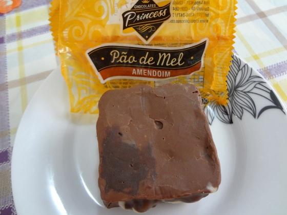 pão de mel amendoim chocolates princess