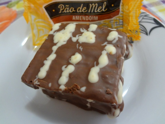 pão de mel amendoim chocolates princess
