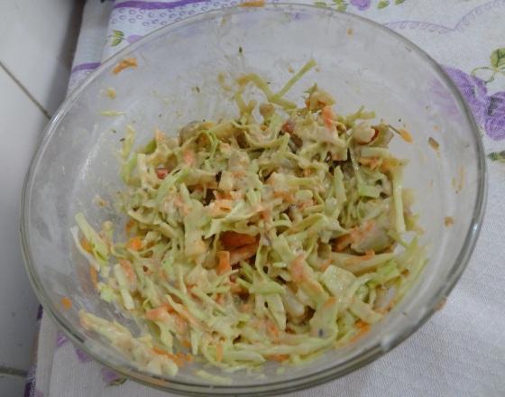 salpicão com salada de atum e batata