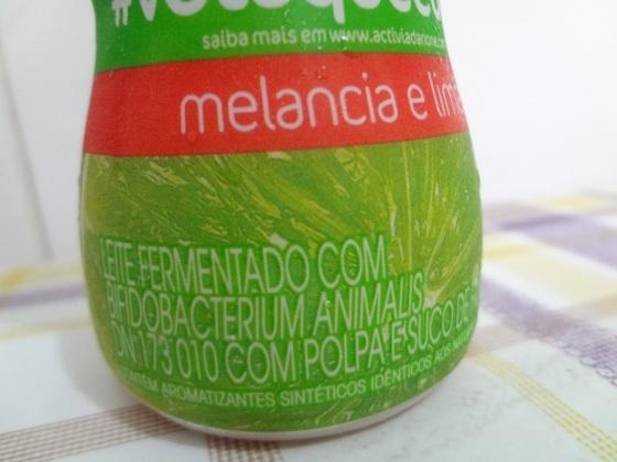 Activia Melancia com Limão
