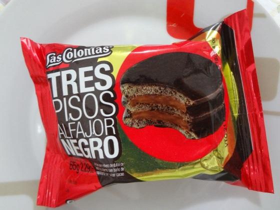 ALfajor Negro Tres Pisos Las Colonias