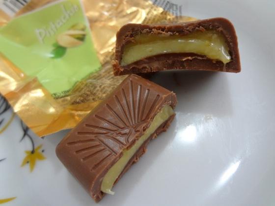 czekoladki z Klasa pistachio