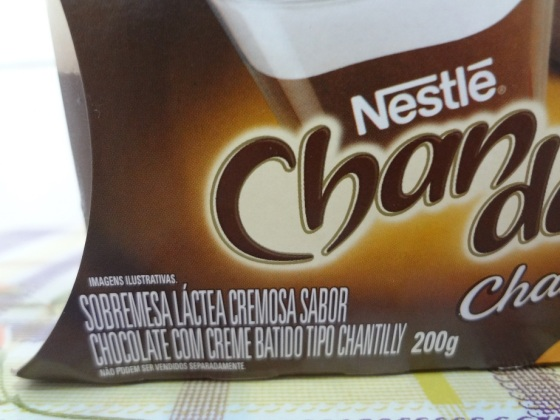chandelle chantilly chocolate