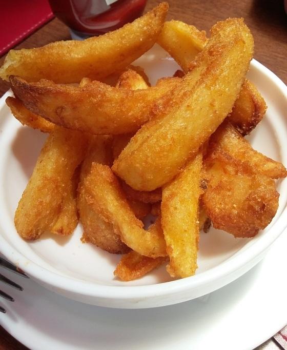 chips burger