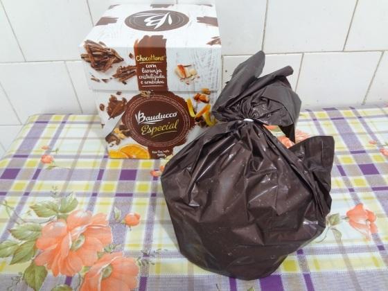 Chocottone Laranja Cristalizada E Amêndoas Bauducco