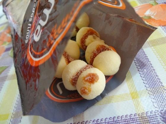 biscoitos amanteigados larama - beijinho