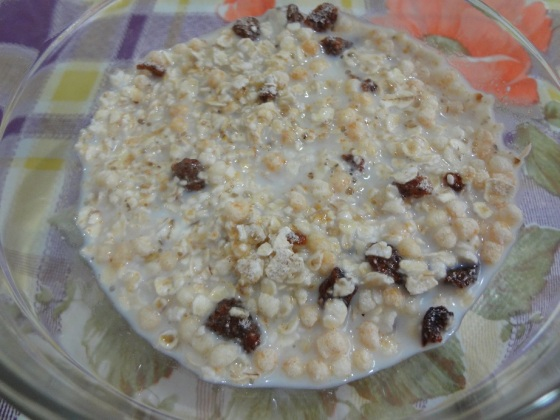 cereal mix banana e mel quaker