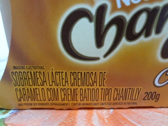 chandelle chantilly caramelo
