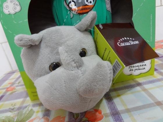 O rinoceronte, o urso-polar e o pinguim