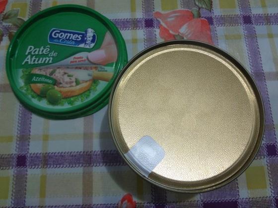 patê de atum azeitonas