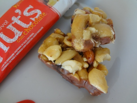 Trio Nut's com Chocolate