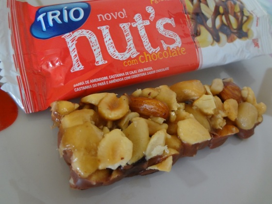 Trio Nut's com Chocolate